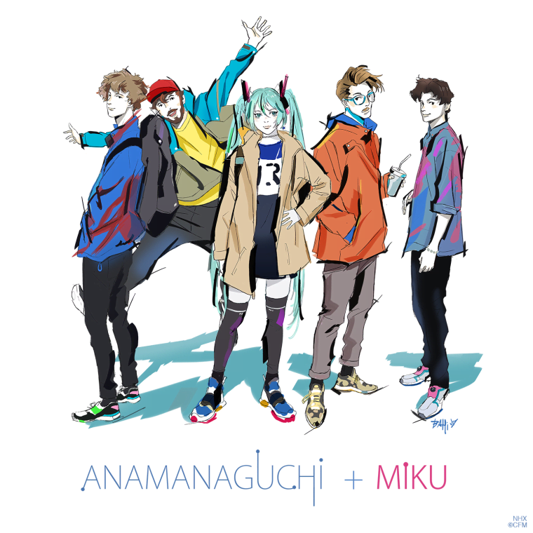 "Anamanaguchi Collaborate With Hatsune Miku For ""Miku"""