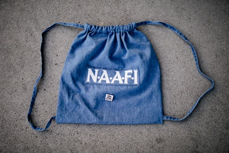 We Really, Really Want This N.A.A.F.I Backpack Designed By 69