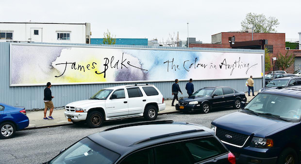 James Blake Confirms New Album Title With Billboards In London And Brooklyn