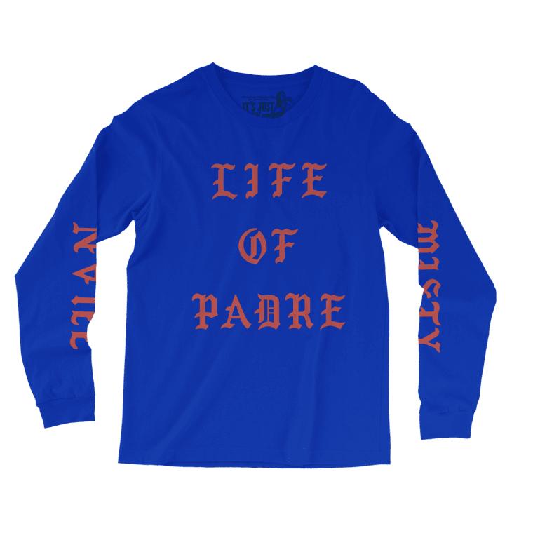 Father John Misty's New Merch Looks A Lot Like Kanye's <i>Life of Pablo</i> Shirts