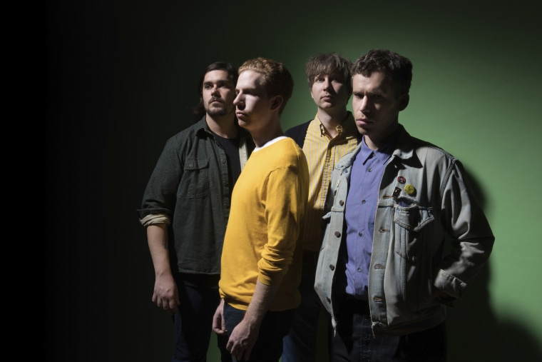 """Hear Parquet Courts' cover of the Ramones' """"Today Your Love, Tomorrow The World"""""""