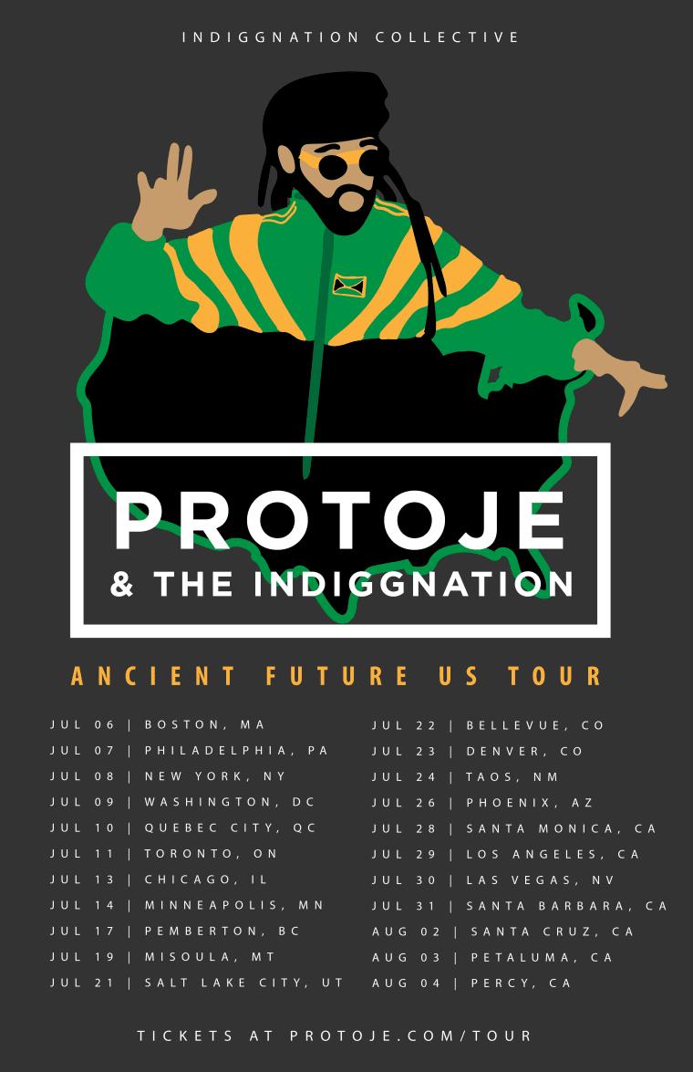 Protoje Announces U.S. Summer Tour