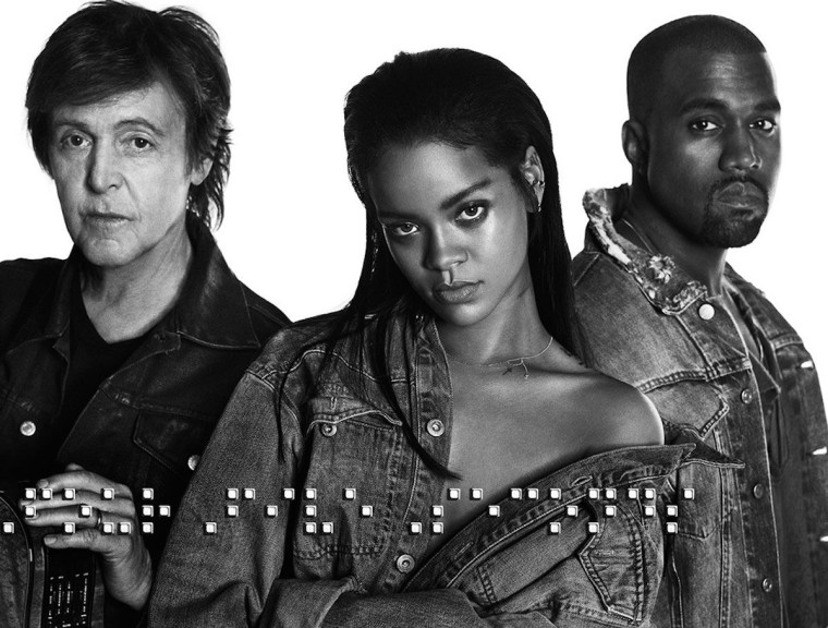 """Paul McCartney on working with Kanye West: """"I was tootling around and he was looking at pictures of Kim"""""""