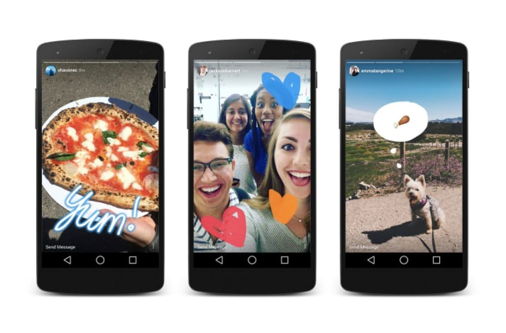 Instagram Debuts Instagram Stories, Which Is Basically Snapchat
