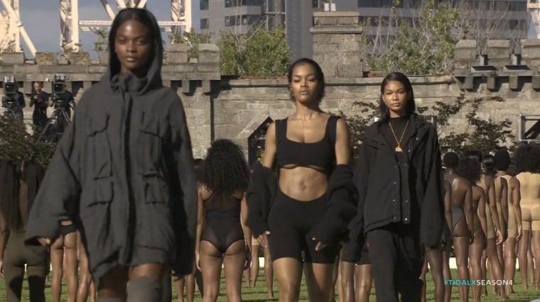 Here's Everything That Happened At Kanye West's Yeezy Season 4 Show