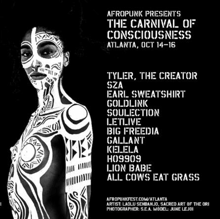 Afropunk To Throw The Carnival Of Consciousness In Atlanta With Tyler, The Creator And SZA