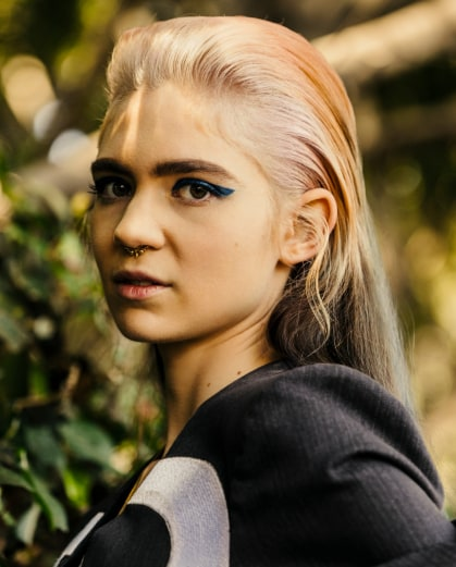Listen To A Ridiculously Eclectic Mix From Grimes