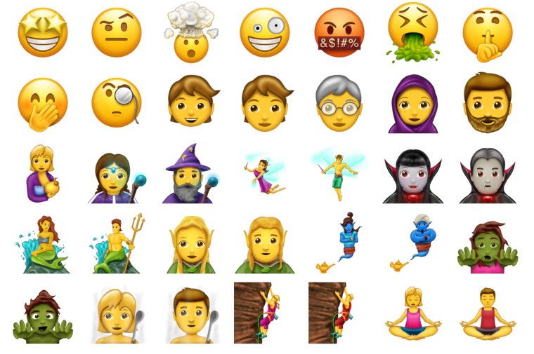 The New Emoji Update Will Include A Mermaid, Broccoli, And Person With Headscarf