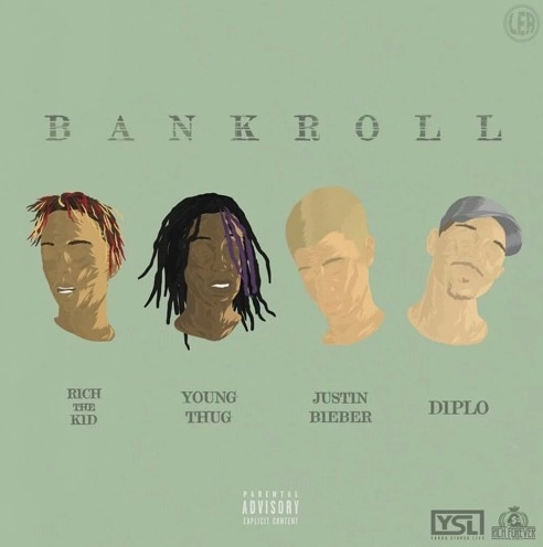 """Listen To Justin Bieber Rap On Diplo's """"Bankroll"""" With Rich The Kid And Young Thug"""