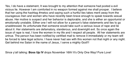 Woman says, in an anonymous letter, that IAMSU! raped her and Jay Ant sexually assaulted her