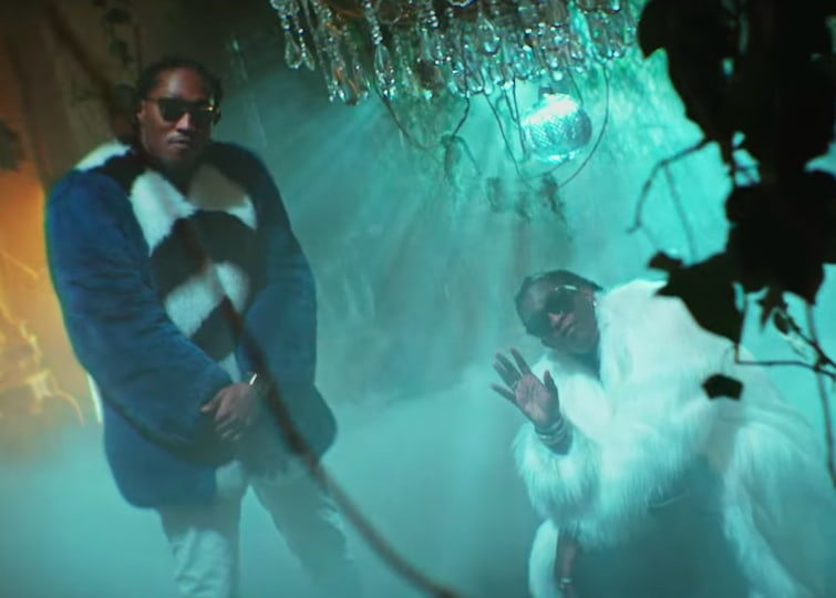 "Young Thug wears a literal snake in the video for ""Mink Flow"""
