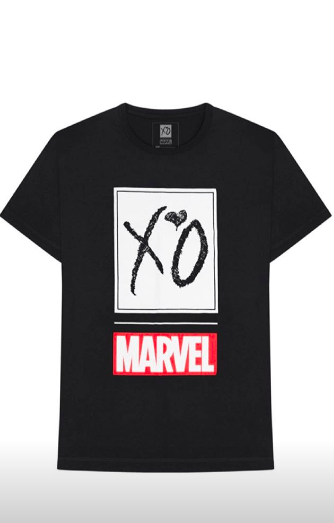 The Weeknd's <i>Starboy</i> comic merch is only available this weekend