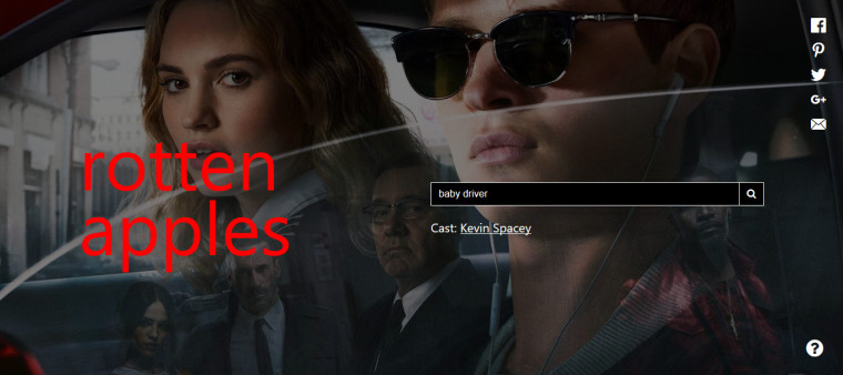 This website tells you if a movie has been ruined by sexual predators