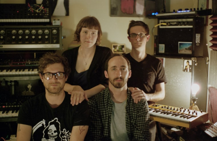Listen To Sharks' Teeth's Psychedelic Synth Rock Opus, <i>It Transfers & Grows</i>