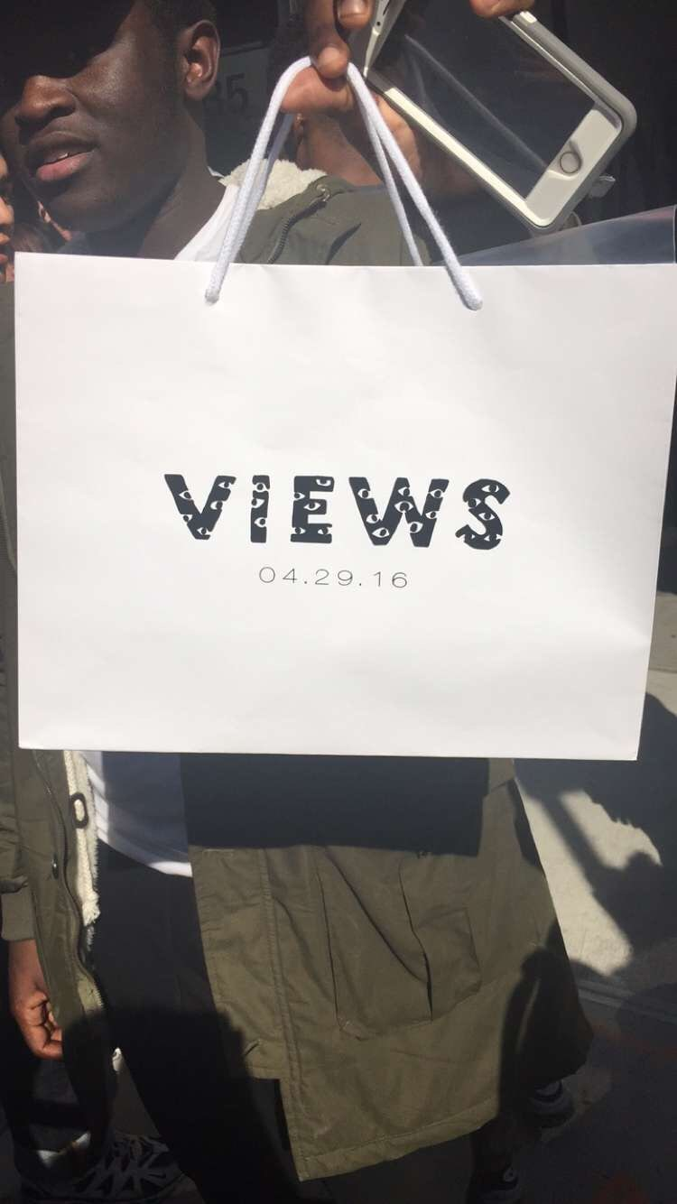 At Drake's NYC Pop-Up, Fans Predict Warm Weather Jams From <i>Views From The 6</i>