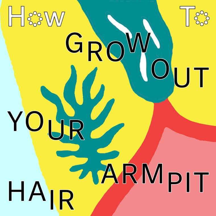 How To Grow Out Your Armpit Hair