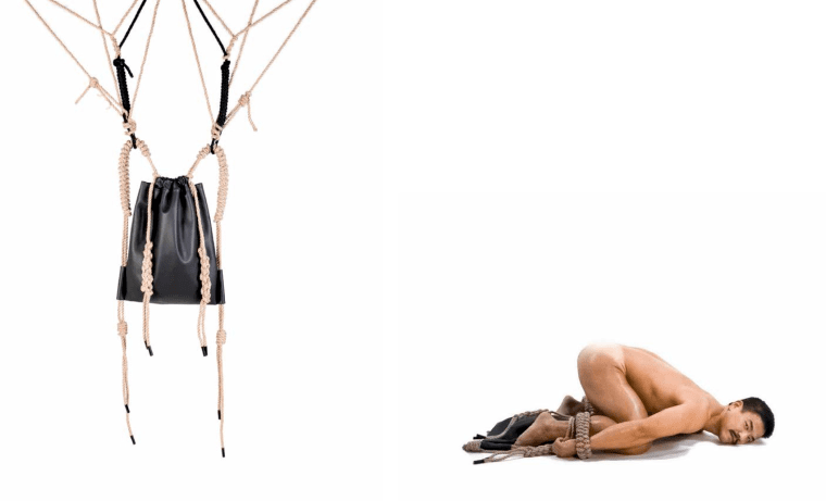 This Amazingly Intricate BDSM-Inspired Backpack Is What You Need Right Now