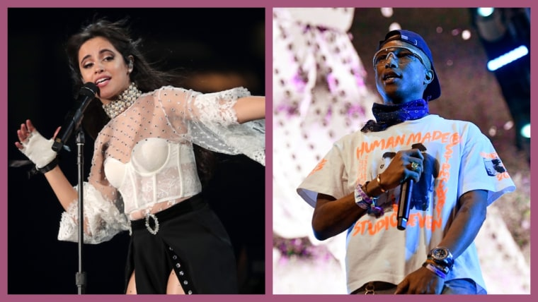 """Pharrell and Camila Cabello link up for new song """"Sangria Wine"""""""