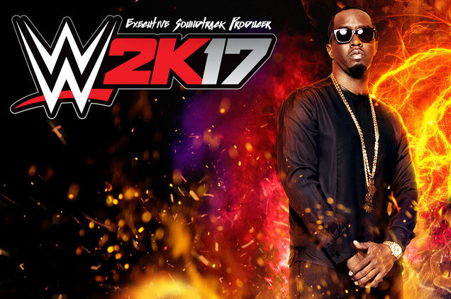 Diddy Curated <I>WWE 2K17</i> Soundtrack To Feature Anderson .Paak, Kodak Black, And More