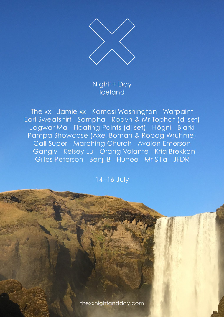 Earl Sweatshirt, Sampha, And More Set For The xx's Festival In Iceland