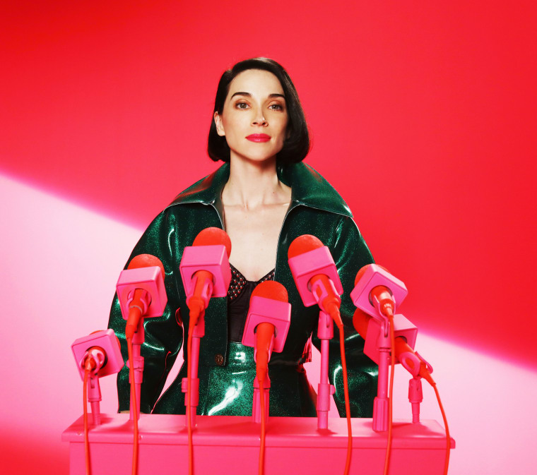 St. Vincent produced a children's record with her aunt and uncle, Tuck and Patti