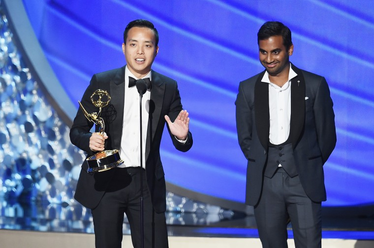 Alan Yang And Aziz Ansari Delivered A Powerful Emmy Acceptance Speech About Diversity
