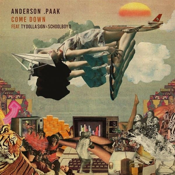 "Anderson .Paak Taps Ty Dolla $ign And Schoolboy Q For ""Come Down"" Remix"