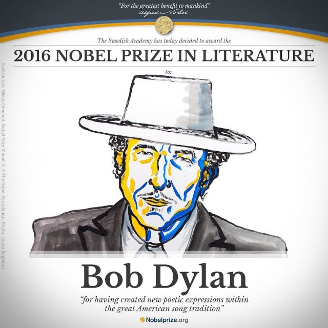 Bob Dylan Is Ghosting The Nobel Prize Committee