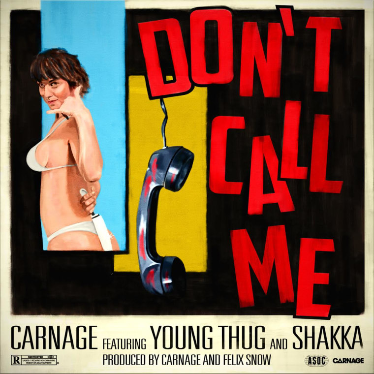 "DJ Carnage Recuits Young Thug And Shakka For ""Don't Call Me"""