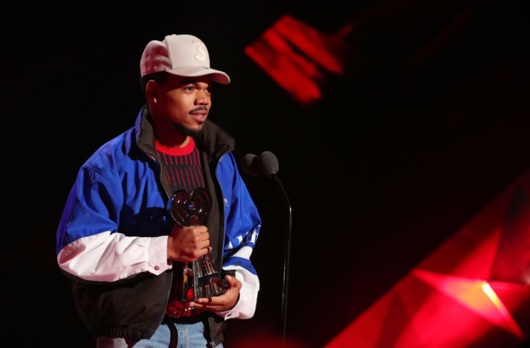 Chance the Rapper announces news website purchase in a song