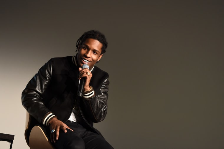 A$AP Rocky And Rod Stewart Are Releasing A Mixtape Called <i>Born To Be Pretty </i>