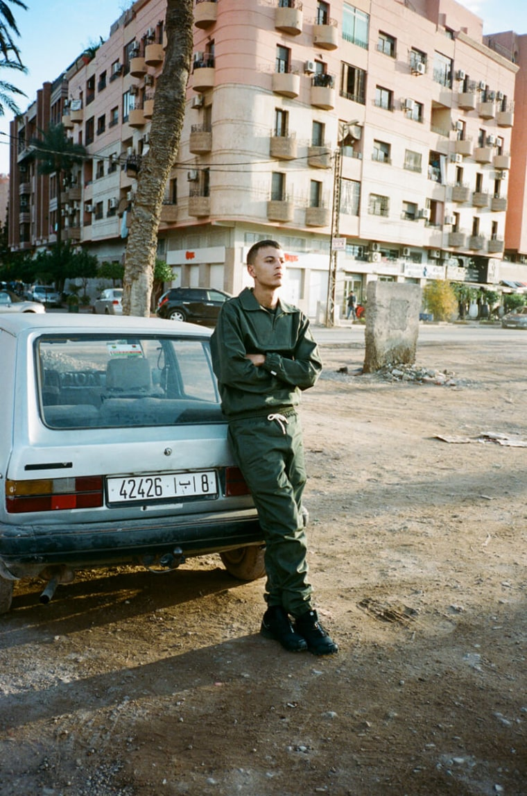 Skepta's Clothing Line MAINS Accused Of Plagiarism By Moroccan Photographer Ilyes Griyeb