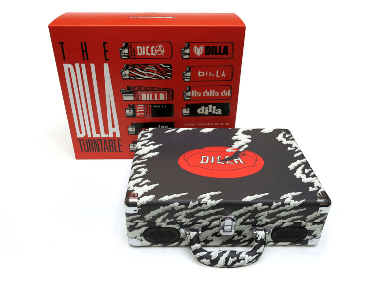 J Dilla's Estate Releases A Portable Turntable