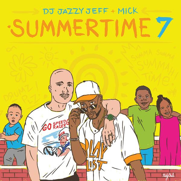Listen To DJ Jazzy Jeff's <i>Summertime Vol. 7</i> Mix