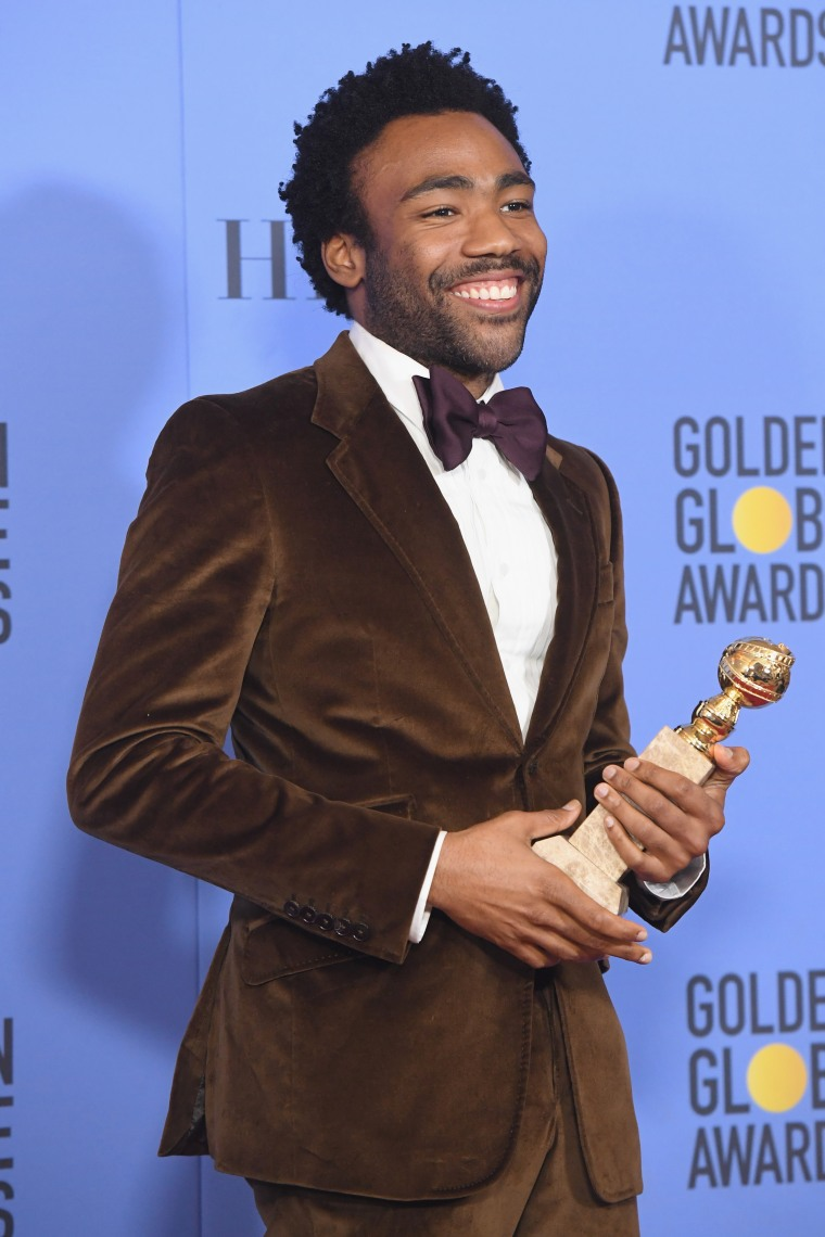 Donald Glover Accepts Second Golden Globe Award For Best Actor In A TV Comedy For <i>Atlanta</i>