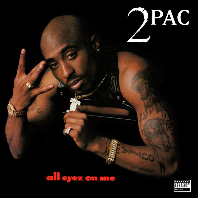 Tupac's Nose Stud From <i>All Eyez on Me</i> Album Art Up For Sale