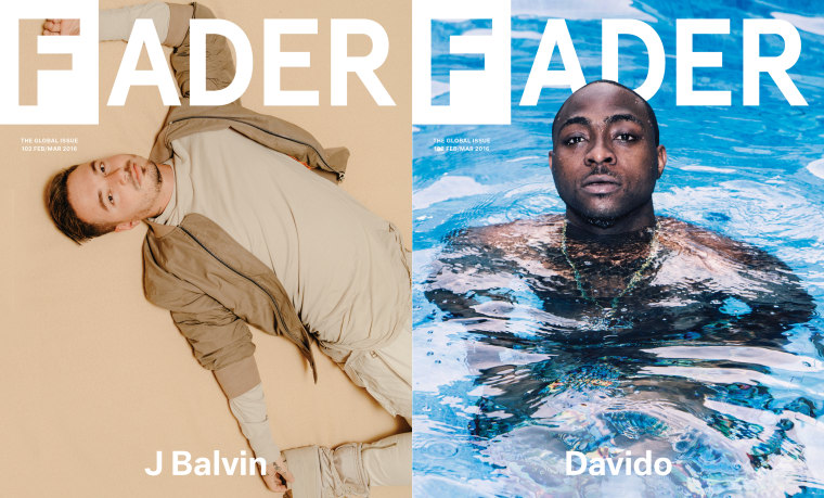 Download The FADER Issue 102, Featuring Davido And J Balvin, For Free