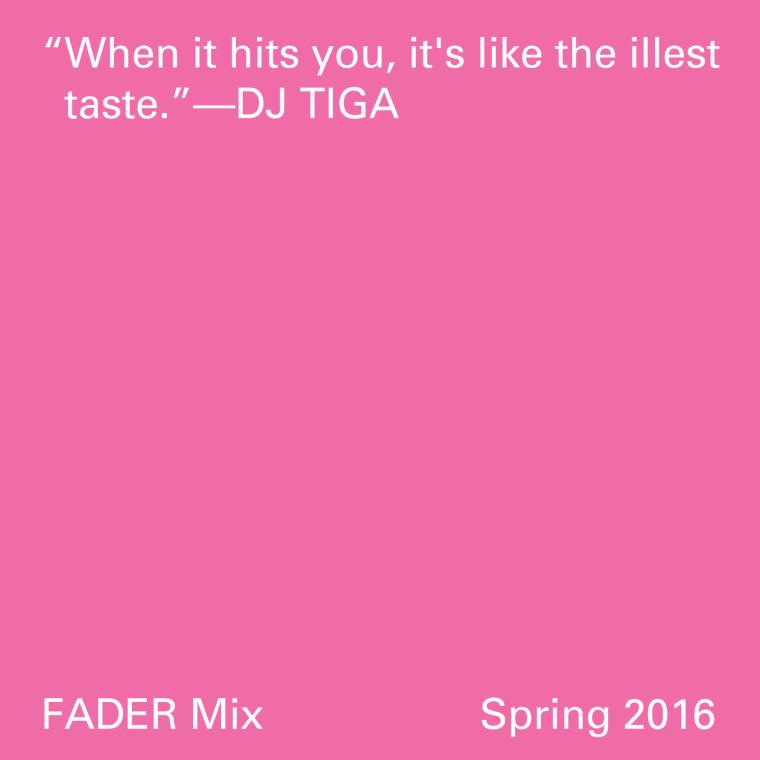 FADER Mix: DJ TiGa