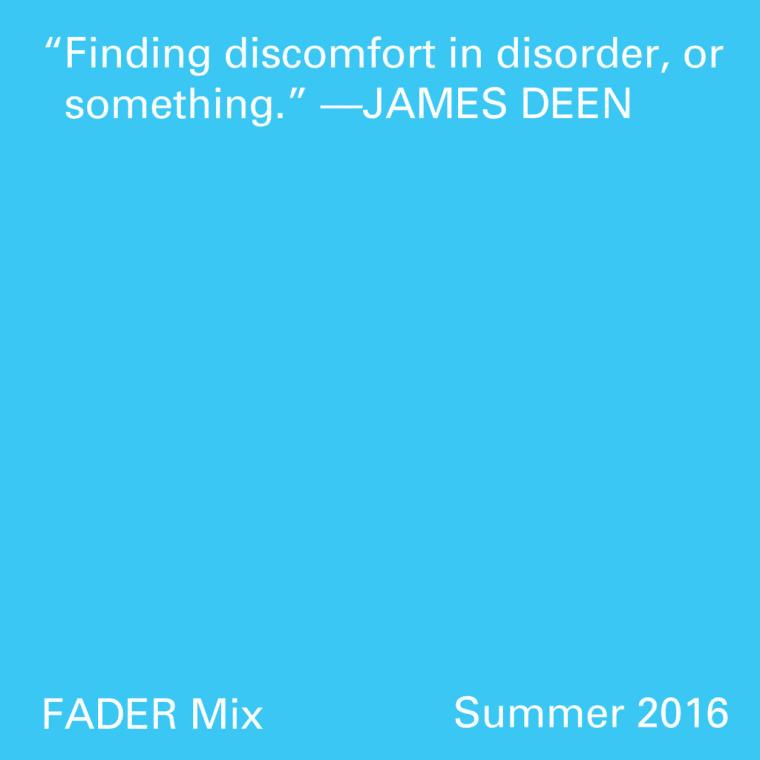 FADER Mix: James Deen