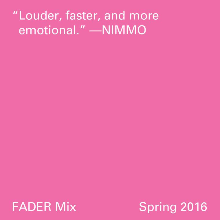 FADER Mix: Nimmo