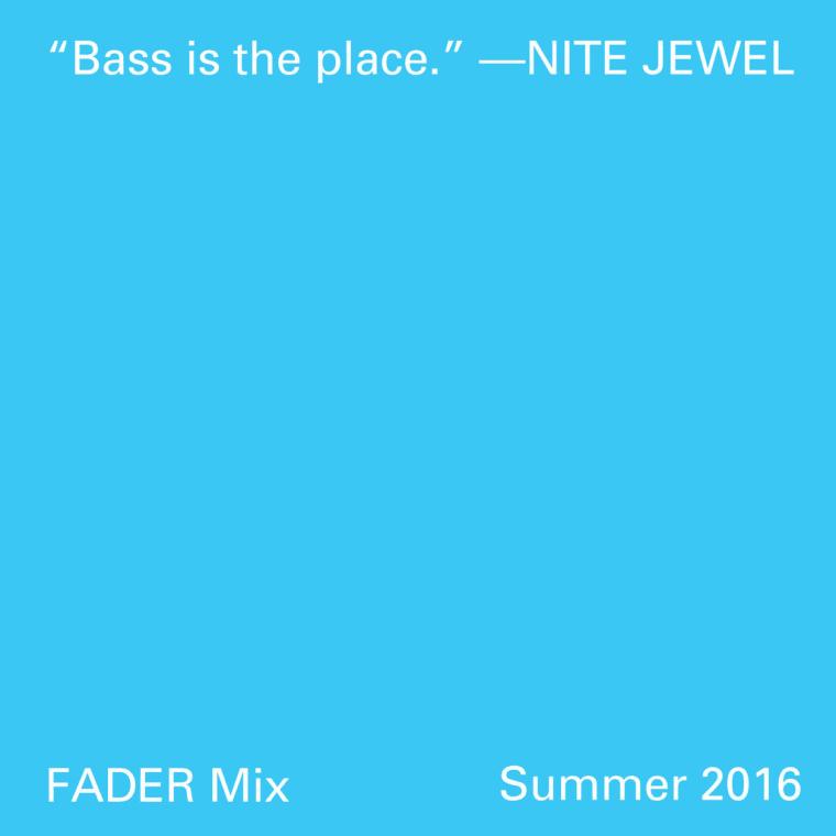 FADER Mix: Nite Jewel