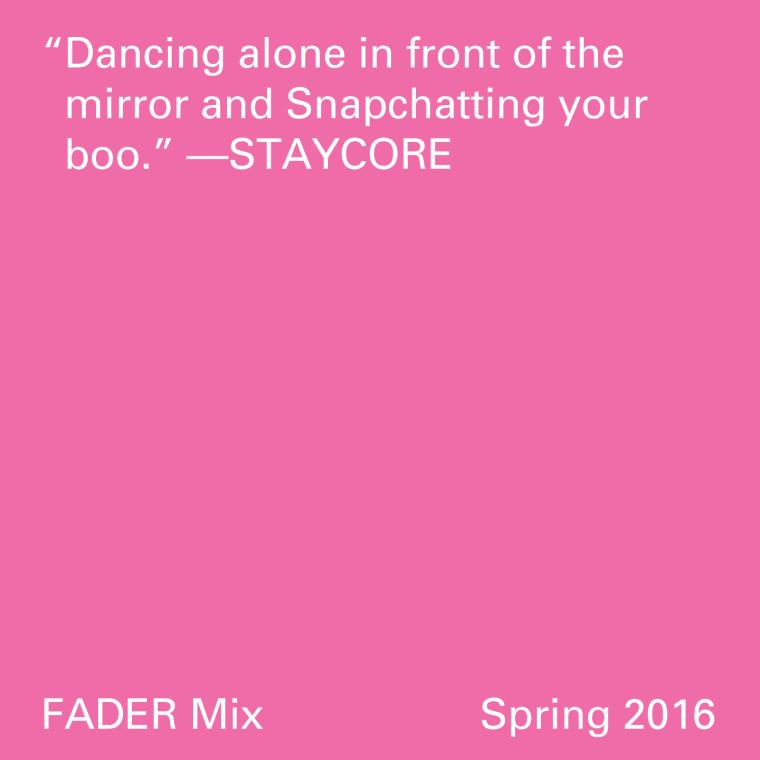 FADER Mix: STAYCORE