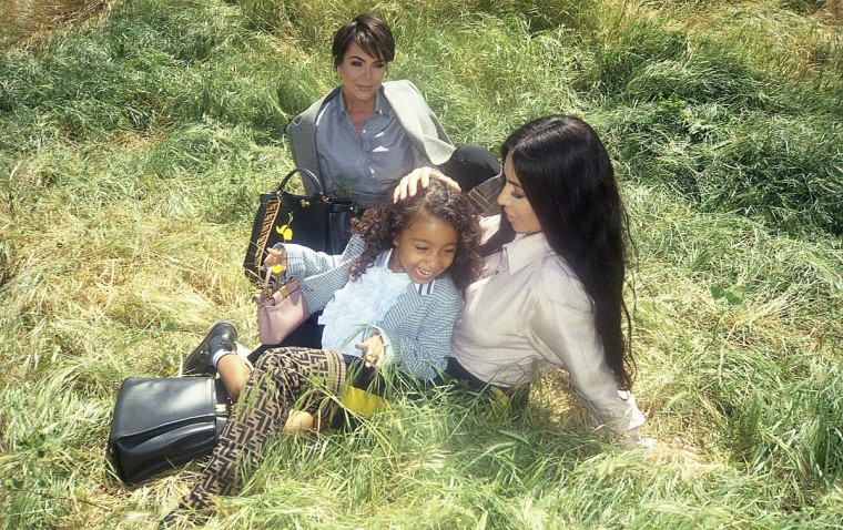 North West makes modeling debut in Fendi campaign