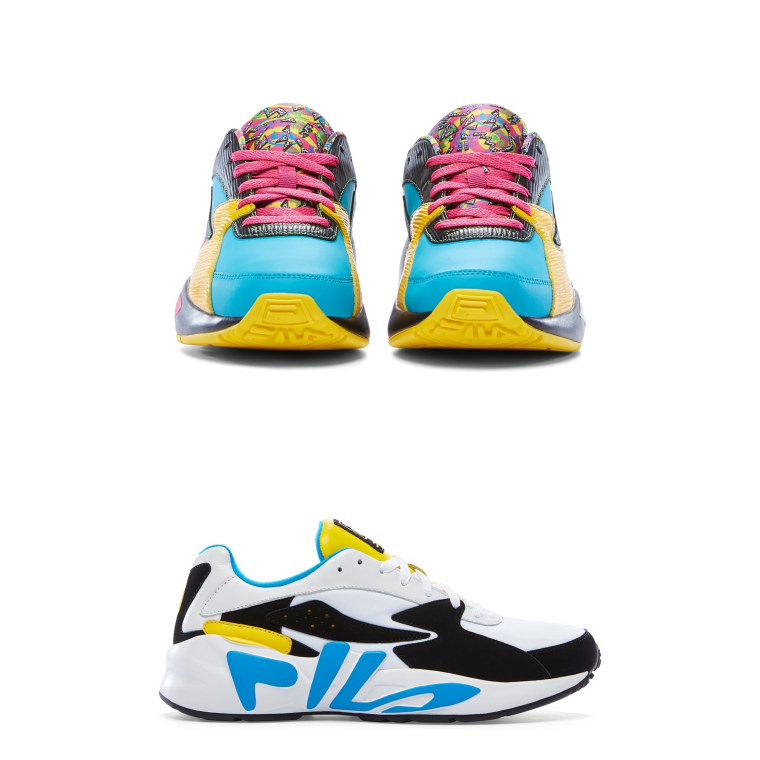 FILA tapped 47 designers for their Mindblower sneaker re-design