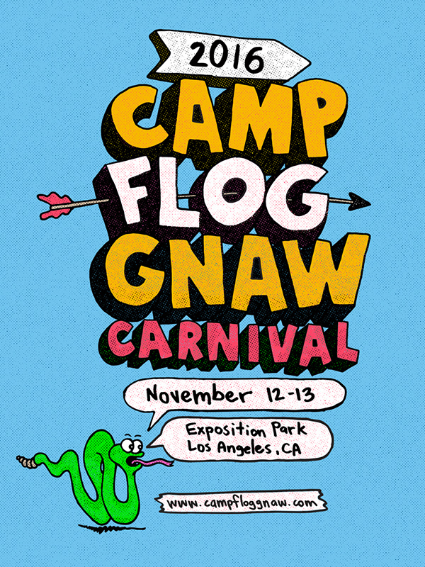 Tyler, The Creator Announces 2016 Camp Flog Gnaw Carnival