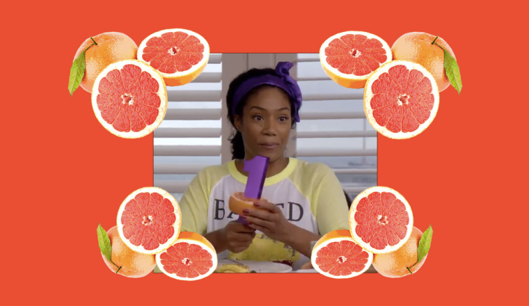The Grapefruit Technique Creator Approves Of <i>Girls Trip</i>'s Loving Tribute