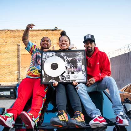 "Ella Mai's ""Boo'd Up"" is certified platinum"