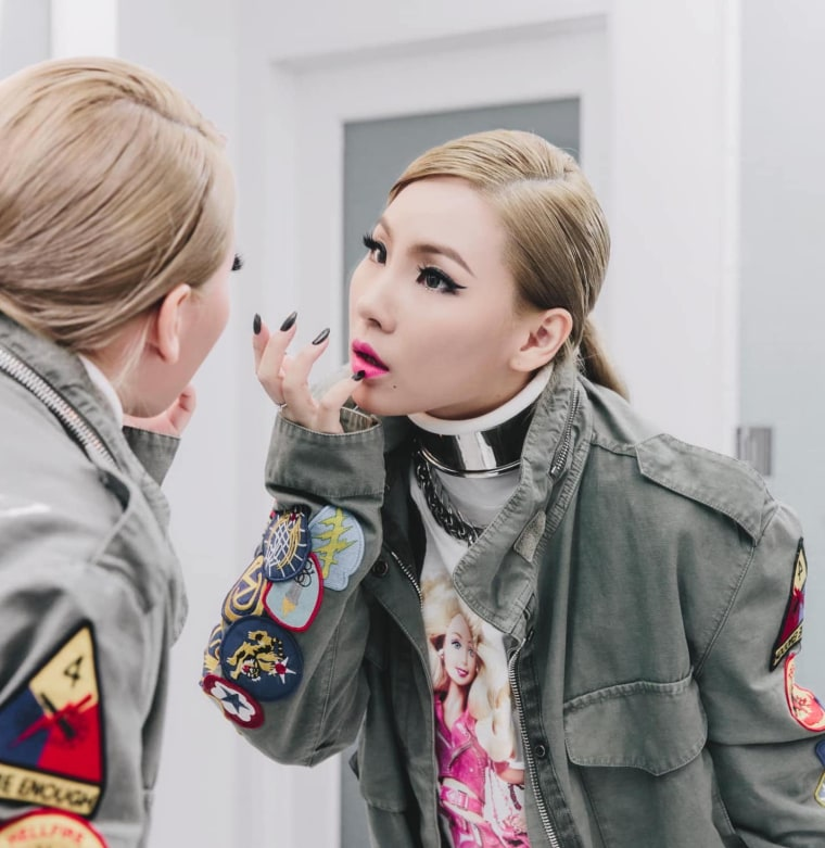 CL shares an update on her upcoming new music, via Scooter Braun