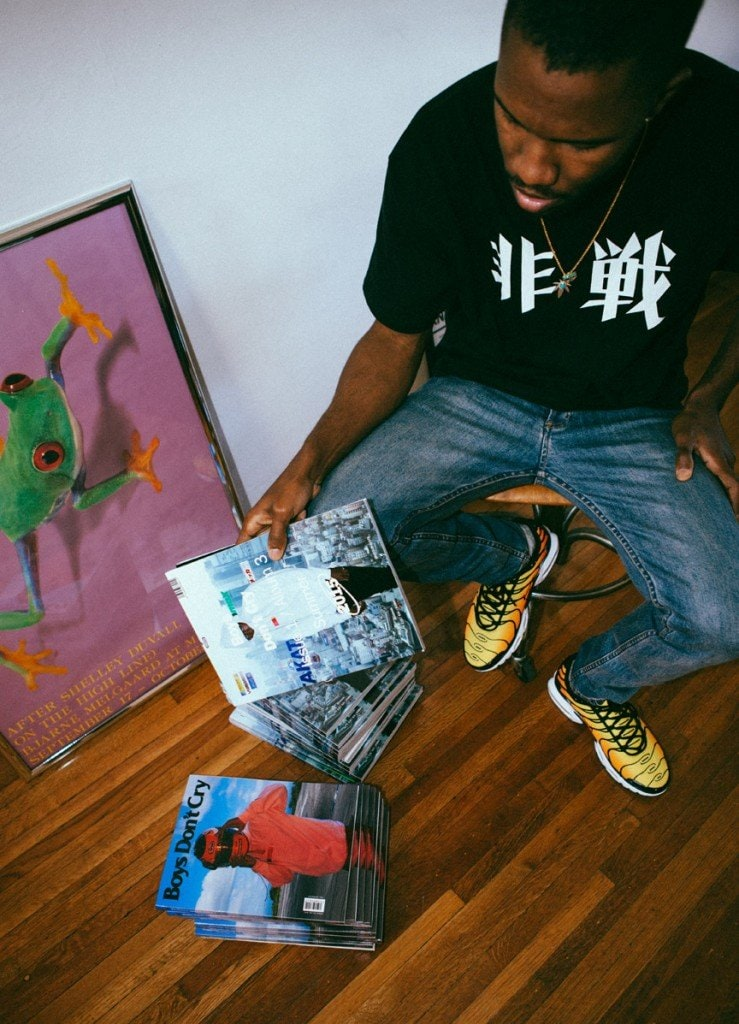 Frank Ocean's <i>Boys Don't Cry</i> Zines Have Yet To Arrive In Apple Stores
