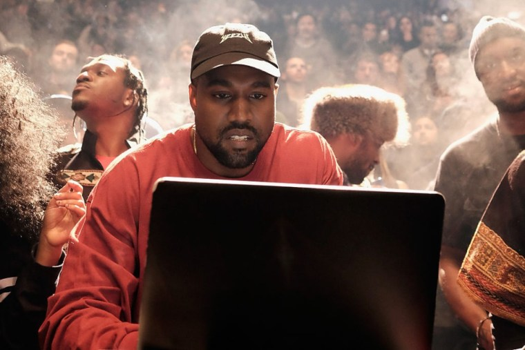 Kanye West sparks speculation that he is setting up streaming service